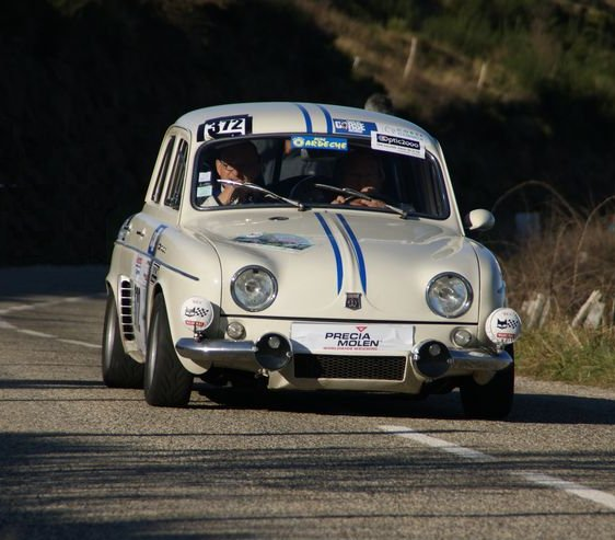 Dauphine 1093 proto 1300 for Renault 8 interieur