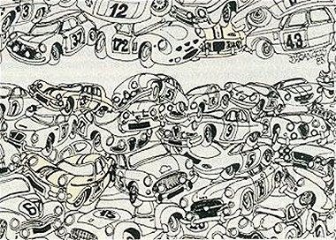 Dessins 1093 - Dessin humoristique voiture ...