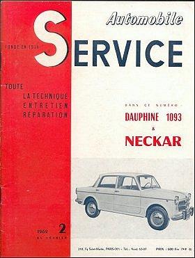 automobile service fevrier 1962. Black Bedroom Furniture Sets. Home Design Ideas